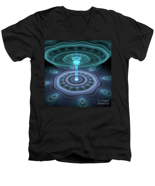 Alien Station Men's V-Neck T-Shirt