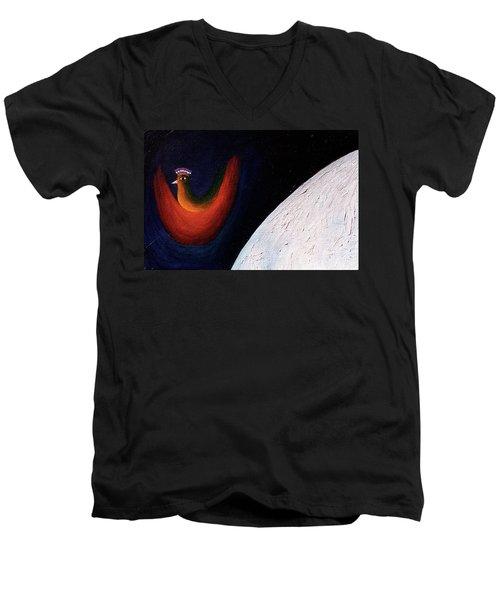 Alight Within Men's V-Neck T-Shirt