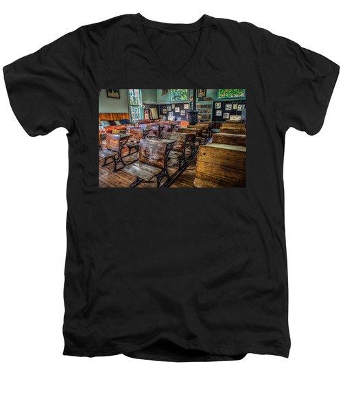 All Grades Men's V-Neck T-Shirt by Ray Congrove