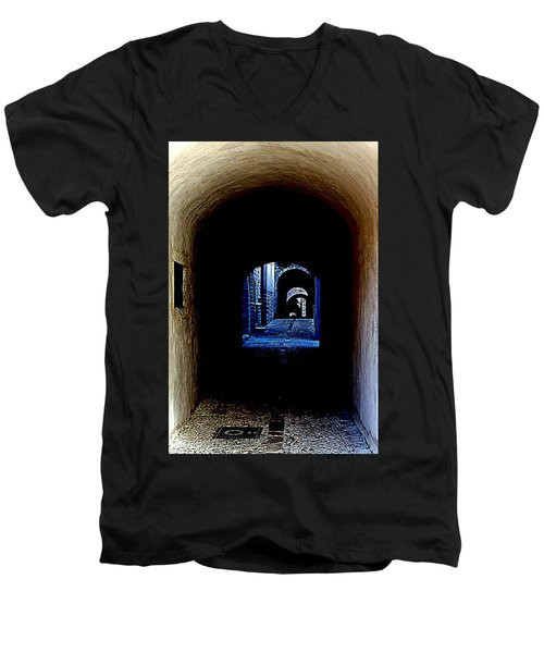 Altered Arch Walkway Men's V-Neck T-Shirt