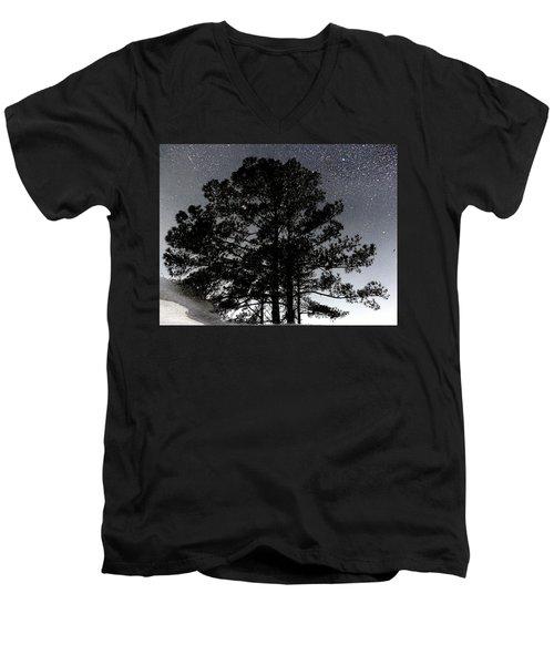 Asphalt Reflections Men's V-Neck T-Shirt