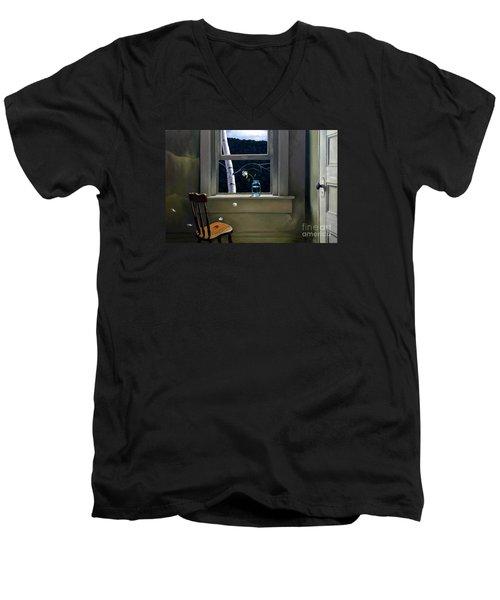 Always Here Men's V-Neck T-Shirt