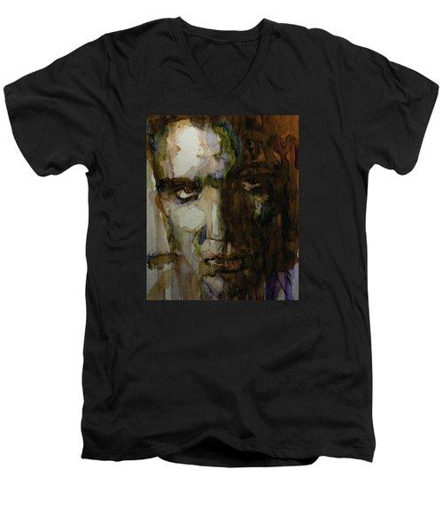 Always On My Mind Men's V-Neck T-Shirt