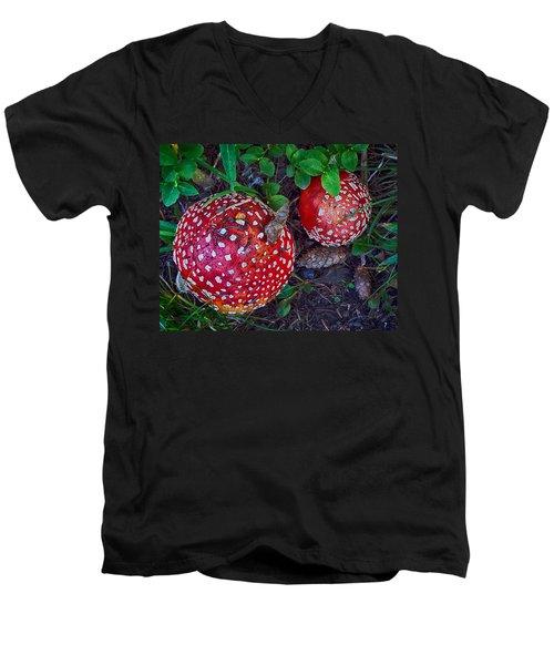 Amanita Men's V-Neck T-Shirt