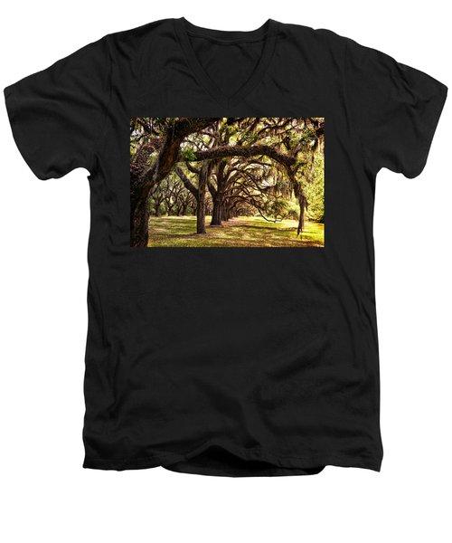 Amber Archway Men's V-Neck T-Shirt