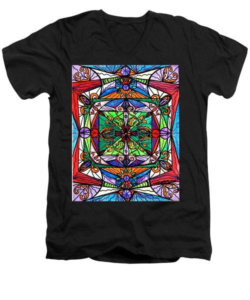 Ameliorate Men's V-Neck T-Shirt