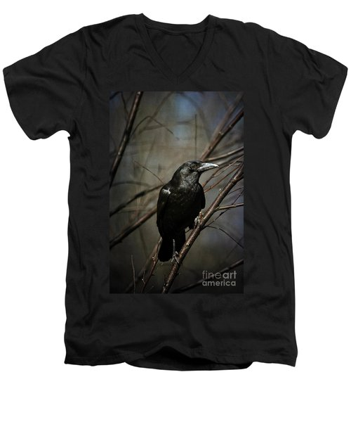 American Crow Men's V-Neck T-Shirt