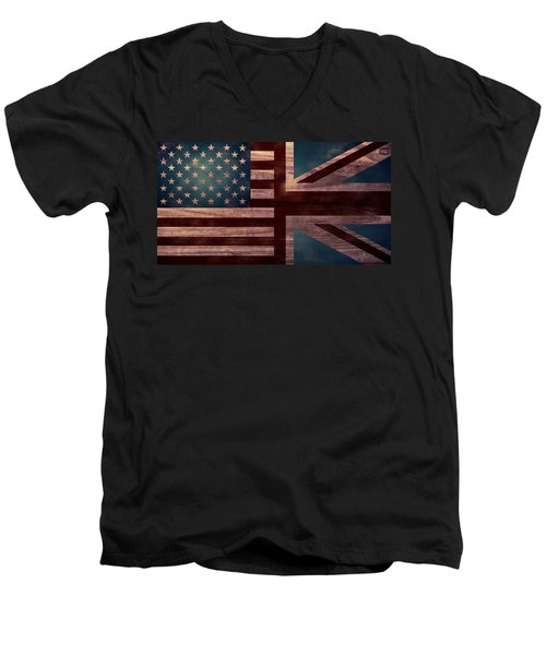 American Jack II Men's V-Neck T-Shirt