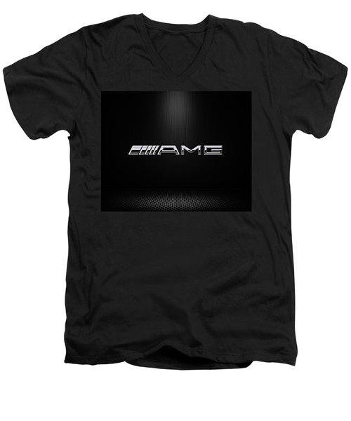 Amg Center Stage Men's V-Neck T-Shirt