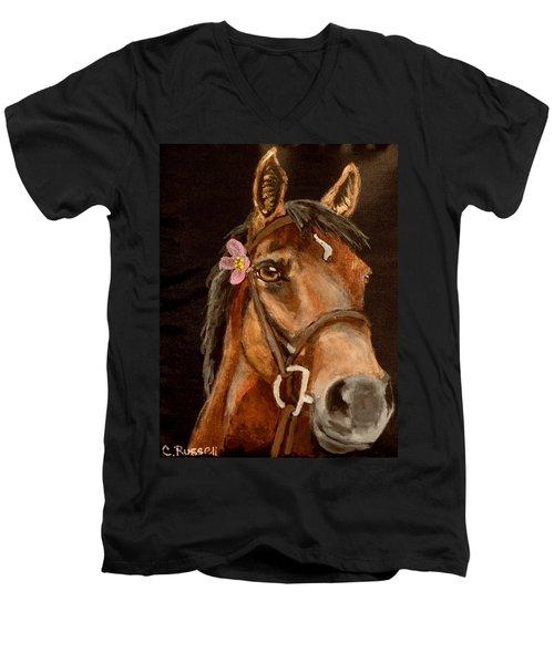 Amy Men's V-Neck T-Shirt