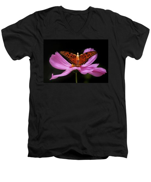 Amy The Butterfly Men's V-Neck T-Shirt