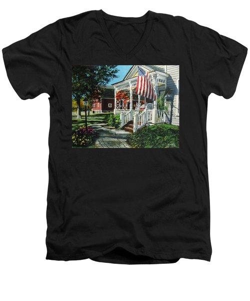 An American Dream Men's V-Neck T-Shirt