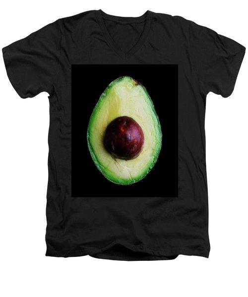 An Avocado Men's V-Neck T-Shirt