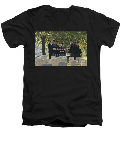 An Honored Dead Men's V-Neck T-Shirt