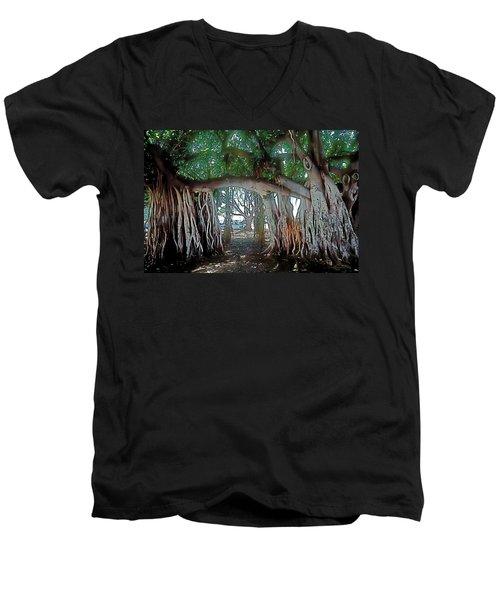 Ancient Arch Men's V-Neck T-Shirt