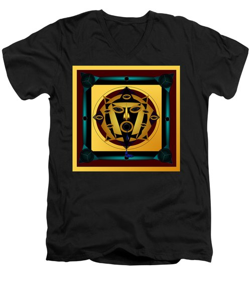 Ancient Eyes Men's V-Neck T-Shirt