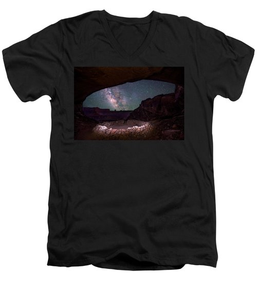 Ancient Skies Men's V-Neck T-Shirt