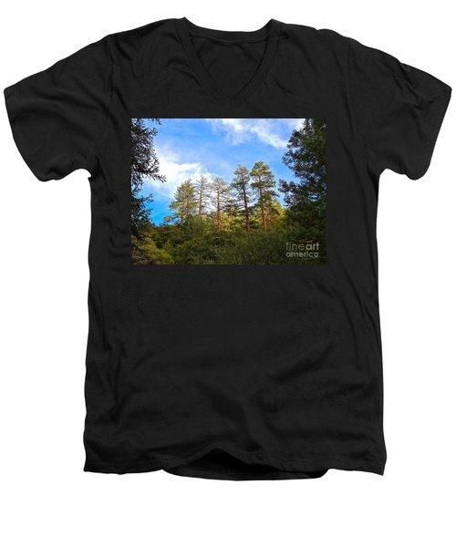 Ancient Watchers Men's V-Neck T-Shirt