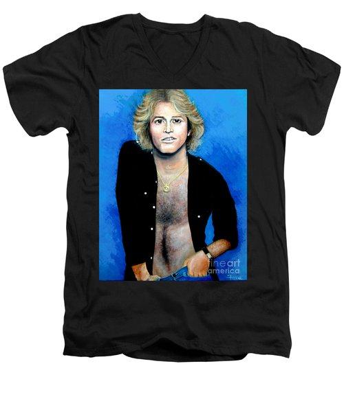 Andy Gibb An Everlasting Love  Men's V-Neck T-Shirt