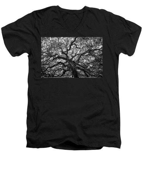 Angel Oak Men's V-Neck T-Shirt