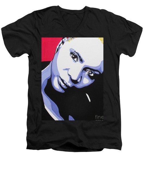 Angelique Kidjo Men's V-Neck T-Shirt
