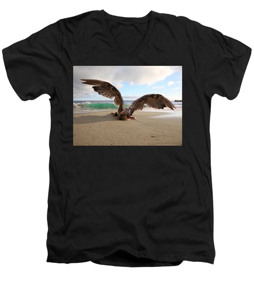 Angels- We Shall Not All Sleep Men's V-Neck T-Shirt