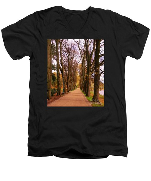 Another View Of The Avenue Of Limes Men's V-Neck T-Shirt