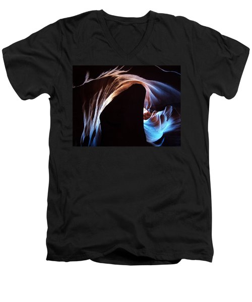 Antelope Canyon 09 Men's V-Neck T-Shirt