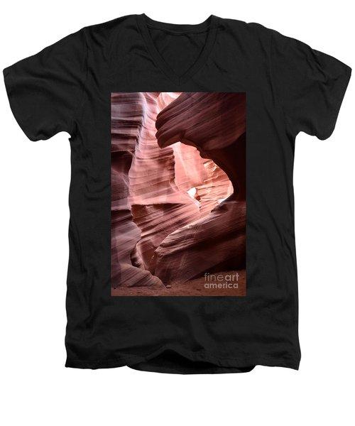 Antelope Canyon Page Az Men's V-Neck T-Shirt by DejaVu Designs