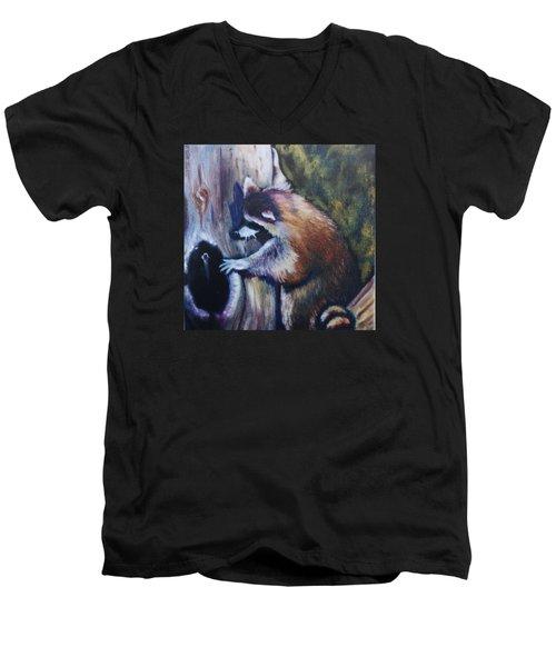 Anybody Home Men's V-Neck T-Shirt