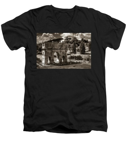 Arch Of Contantine Men's V-Neck T-Shirt