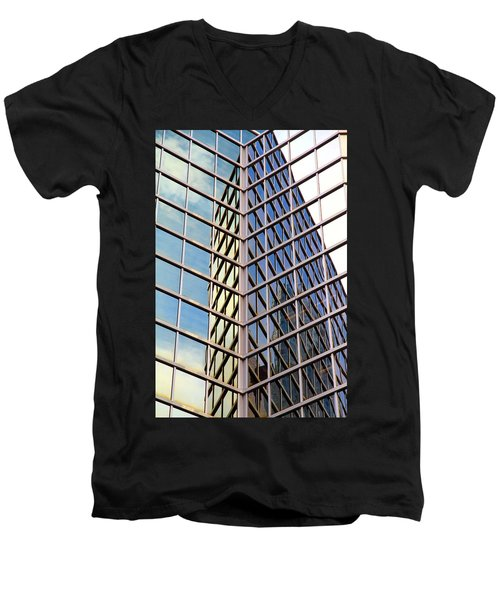 Architectural Details Men's V-Neck T-Shirt