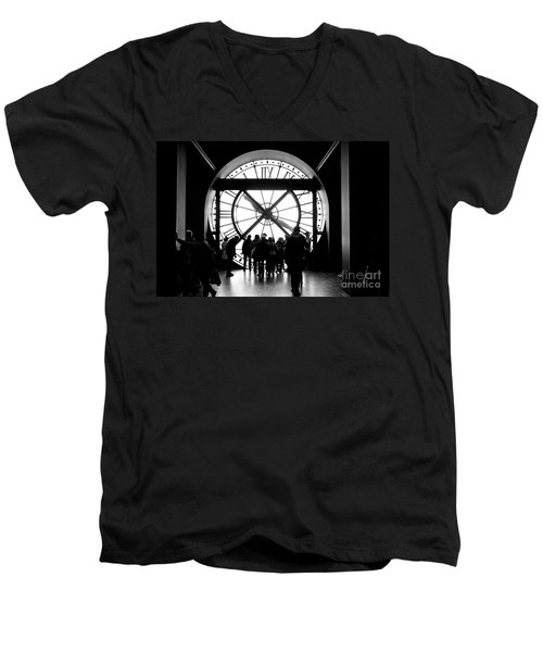 Are We In Time... Men's V-Neck T-Shirt