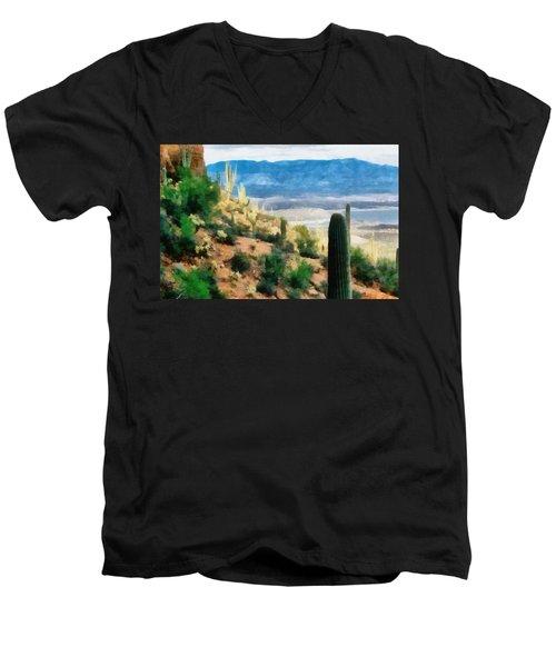 Arizona Desert Heights Men's V-Neck T-Shirt