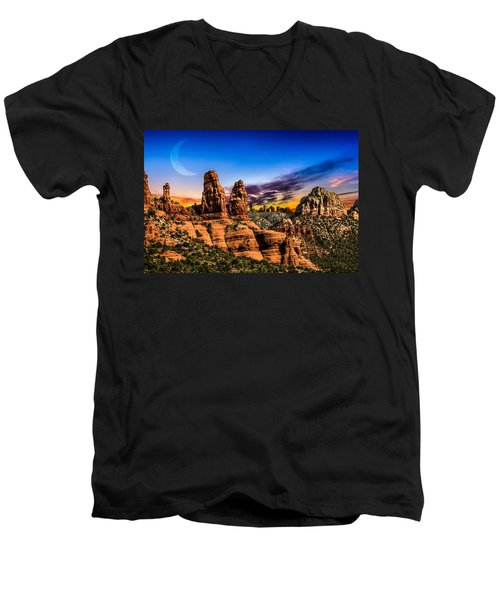 Arizona Life Men's V-Neck T-Shirt