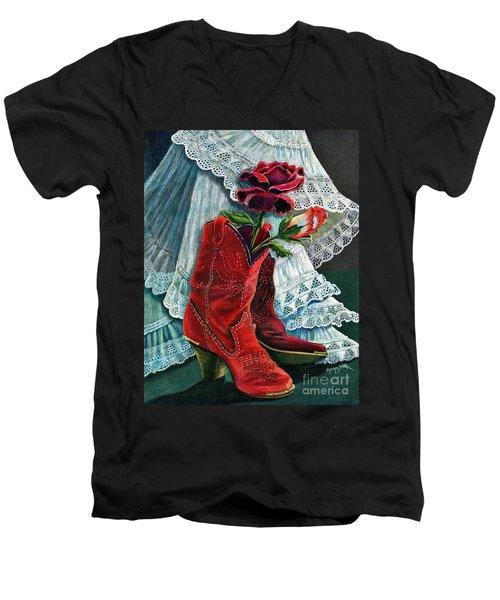 Arizona Rose Men's V-Neck T-Shirt