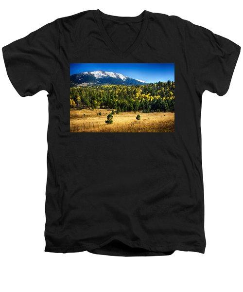 As Fall Arrives In Arizona  Men's V-Neck T-Shirt