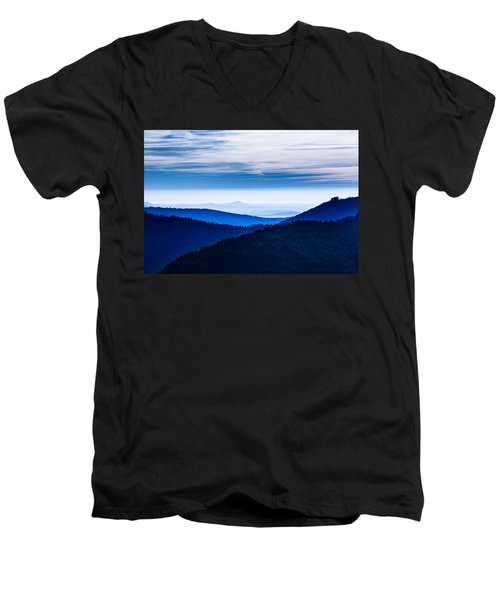 As Far As Our Eye Can See Men's V-Neck T-Shirt