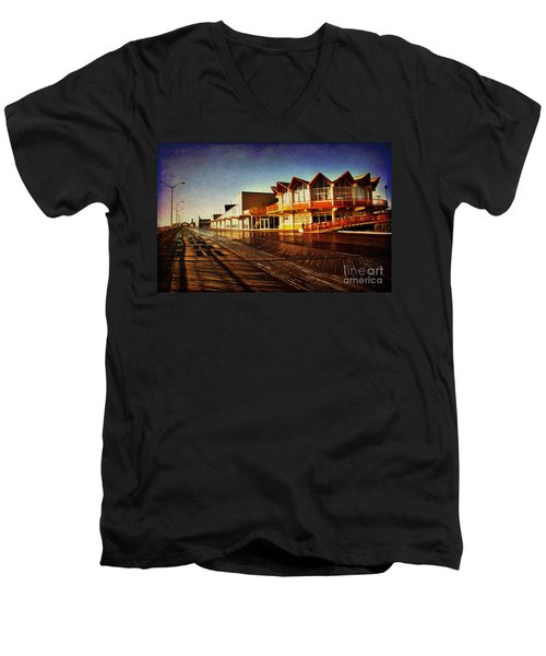 Asbury In The Morning Men's V-Neck T-Shirt