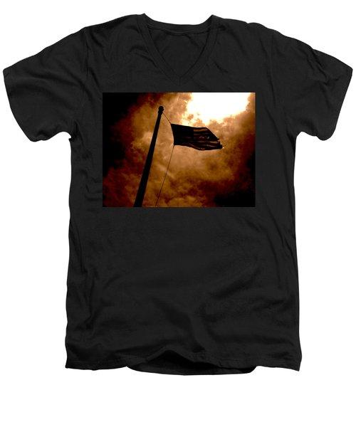 Ascend From Darkness Men's V-Neck T-Shirt