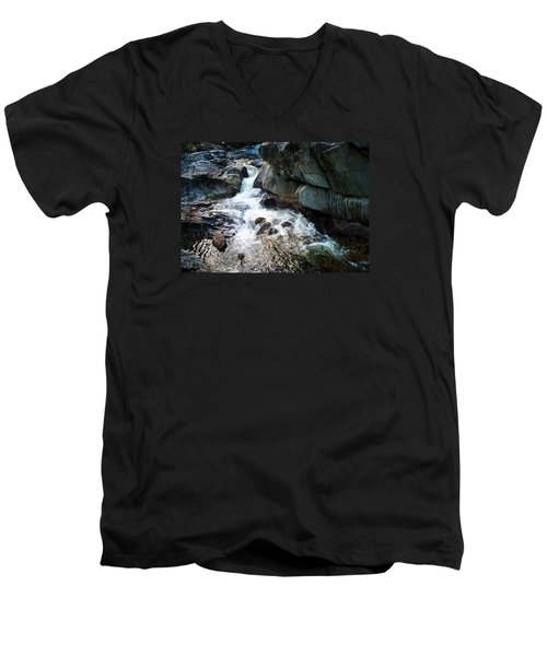 At Coos Canyon Men's V-Neck T-Shirt by Joy Nichols