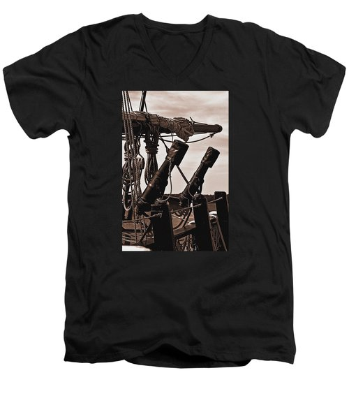 At The Ready Men's V-Neck T-Shirt