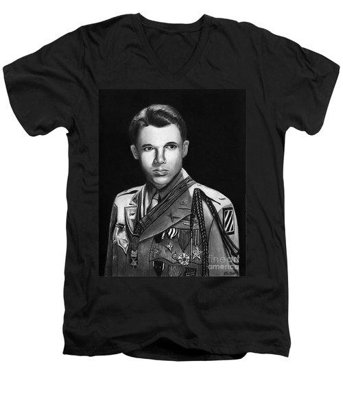 Audie Murphy Men's V-Neck T-Shirt