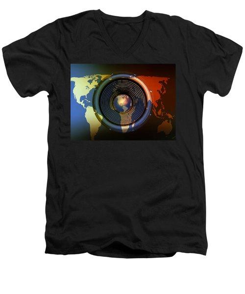 Audio World Men's V-Neck T-Shirt