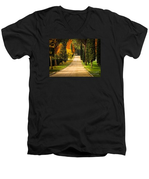 Autumn Drive Men's V-Neck T-Shirt
