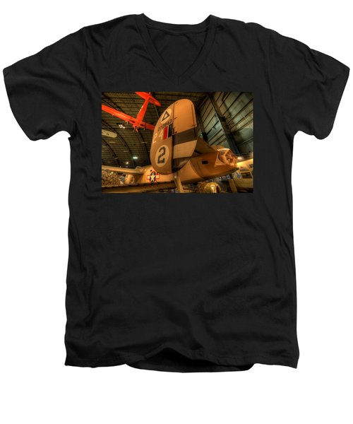 B-24 Liberator Tail Men's V-Neck T-Shirt