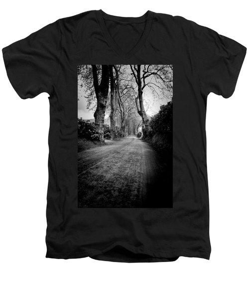 Back Road East Men's V-Neck T-Shirt