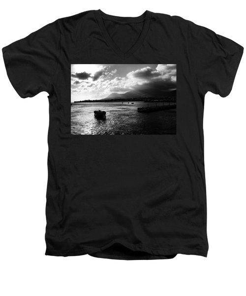 Back To Sea Men's V-Neck T-Shirt