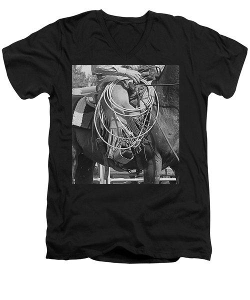 Backing Up Men's V-Neck T-Shirt