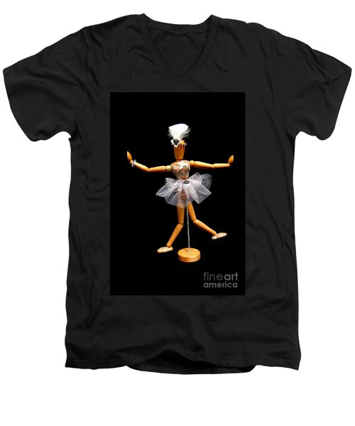 Ballet Act 2 Men's V-Neck T-Shirt by Tamyra Crossley
